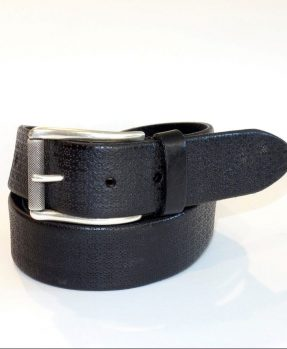 Black man leather belt