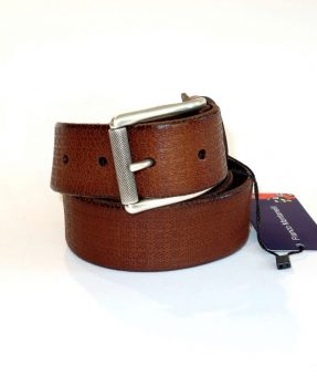 Tobacco man leather belt