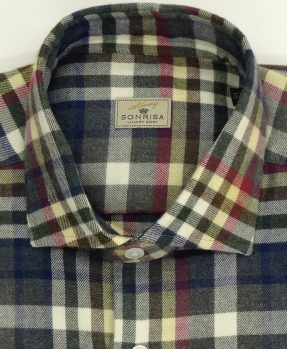 Sonrisa flannel checks shirt
