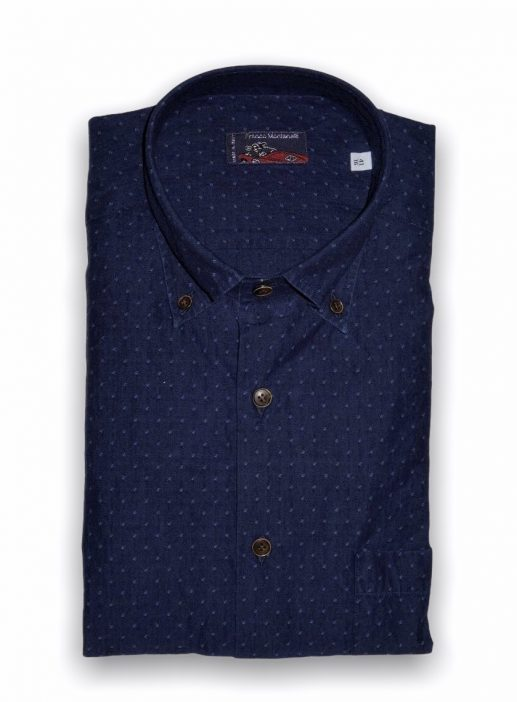 Men's dark denim shirt