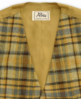 Rota Vest Wool Checks