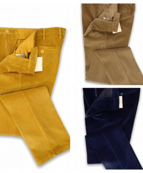 Rota Stretch Corduroy Trousers