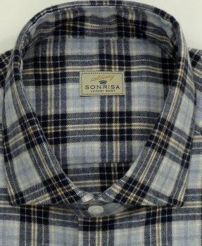 Checks flannel Sonrisa shirt